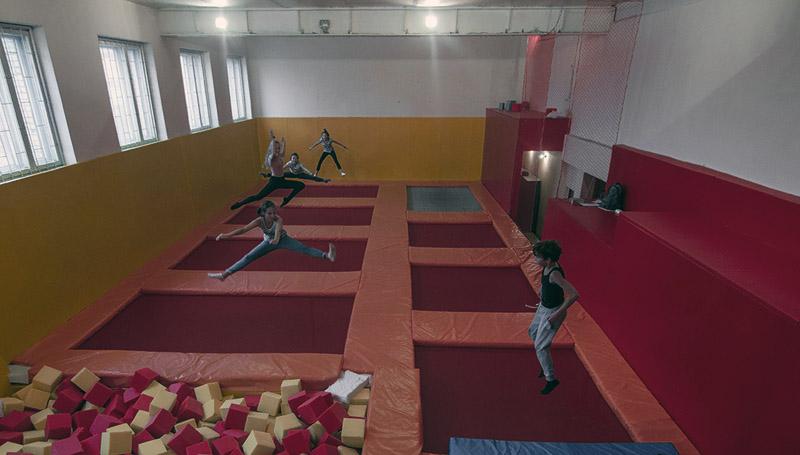 Батутный клуб в СпортЦентре Tushino