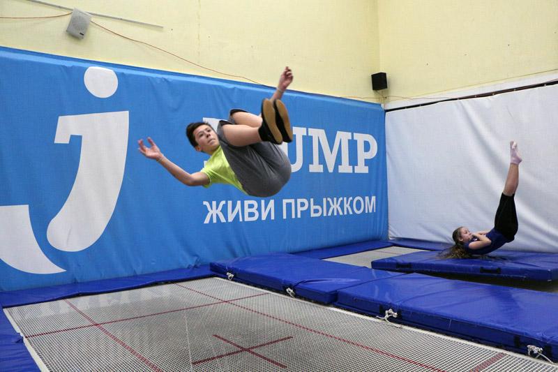 Батутно - акробатический центр I-jump