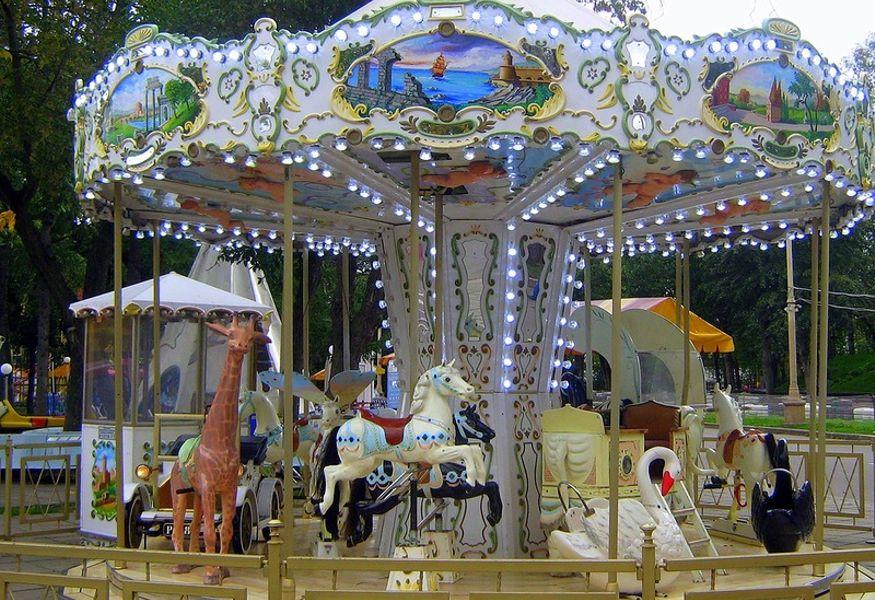 Аттрапарк в Измайловском парке