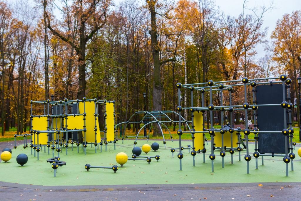 Детская игровая площадка план