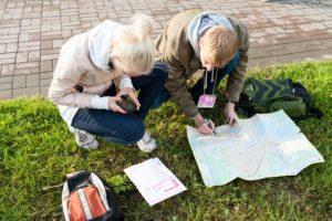 Уличные квесты и спортивное оринтерование: играть, думать, бежать