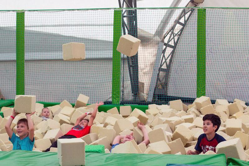 Батутные арены Just Jump