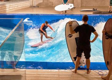 3 бассейна с искусственными волнами: где тренироваться на серфе в Москве и области?