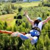 6 мест Москвы и Подмосковья, где можно прыгнуть с веревкой-тарзанкой