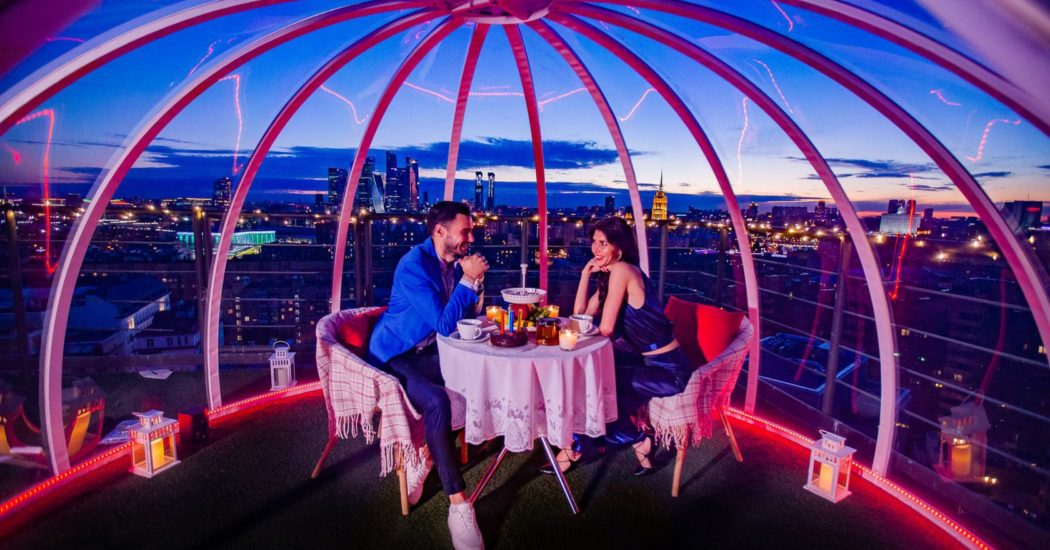 100 мест Москвы, куда можно пригласить девушку на первое свидание и не только